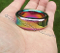 Super Heavy Duty Rainbow Stainless Glans Ring 34.9mm ID