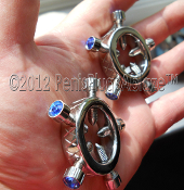 RING OF TEARS™ NIPPLE CLAMPS-GLANS RINGS-THE MINI CROWNS#1