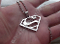 Superman Pendant Charm Necklace 316L Stainless Steel
