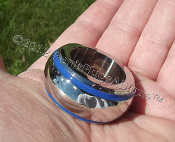 BLUE LINE GIANT™ GLANS WEIGHT RING GIANT!!! 1 INCH (26mm) ID