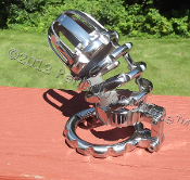 THE RIBB CAGE™ CHASTITY CAGE. 3.5 inch cage STEAMPUNK