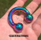 THE SUPER CHUNK RAINBOW™ GLANS GRIP™ RING SOLID ONE PIECE