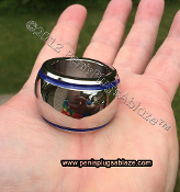 BLUE LINE SUPER GIANT™ GLANS WEIGHT RING !! 1 INCH (26mm) ID