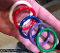 RAINBOW STRETCHY SILICONE COCK OR BALL RING 5PCS