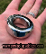 GIANT DONUT SURGICAL STEEL GLANS RING 128 GRAMS